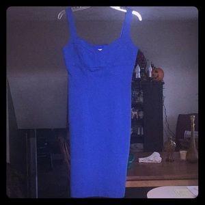 BNWOT Diane Von Furstenberg Royal Blue Midi